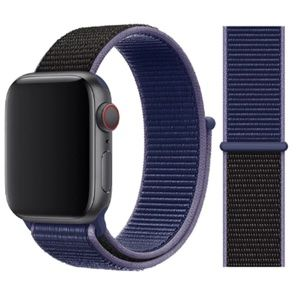 NEW Midnight Blue Strap Loop Band For Apple Watch